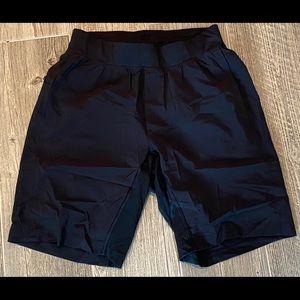 "Men's LULULEMON Pace Breaker Lined 7"" Shorts MINT"